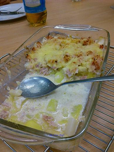 leckerer Kartoffel-Spargel-Auflauf/ Das Futter Blog
